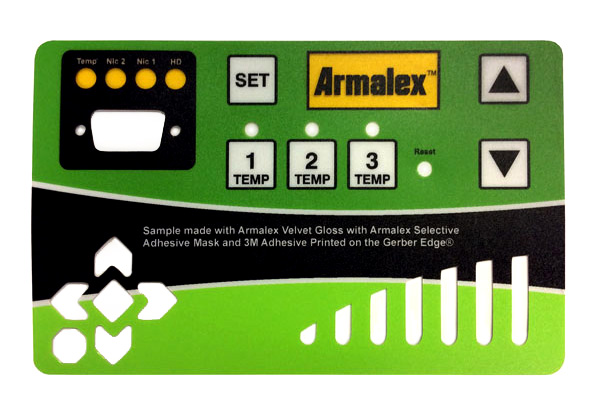 Armalex control panel overlay