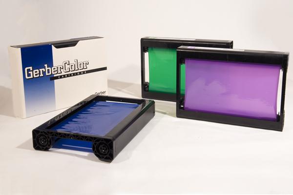 Bright colors, metallics, foil ribbons   Gerber Printers